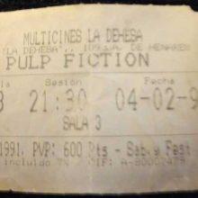 Aquella noche del estreno de Pulp Fiction