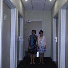 Las gemelas de El resplandor 34 años después